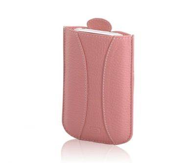 Urbano Leather Mobile case for iPhone 3G/3Gs Pink вид сбоку